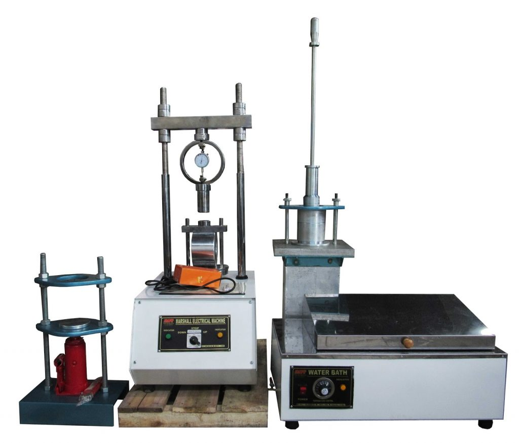 jual marshall test, jual penumbuk aspal, jual compaction hammer marshall, jual mould marshall